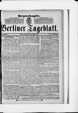 Berliner Tageblatt und Handels-Zeitung vom 27.03.1896