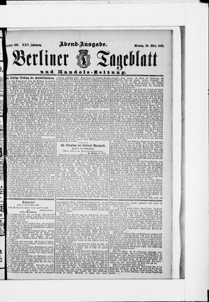 Berliner Tageblatt und Handels-Zeitung vom 30.03.1896
