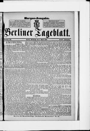 Berliner Tageblatt und Handels-Zeitung on Apr 1, 1896
