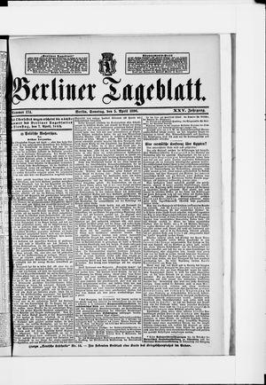 Berliner Tageblatt und Handels-Zeitung on Apr 5, 1896