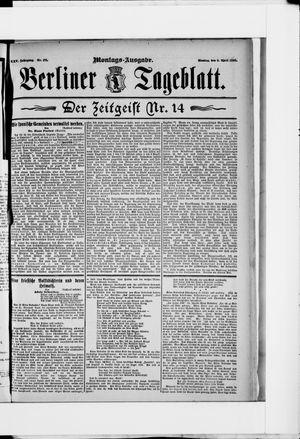 Berliner Tageblatt und Handels-Zeitung vom 06.04.1896