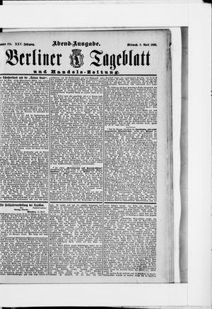 Berliner Tageblatt und Handels-Zeitung vom 08.04.1896