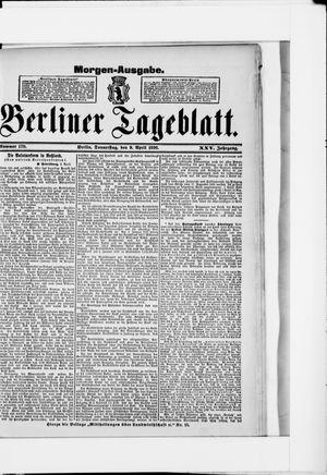 Berliner Tageblatt und Handels-Zeitung vom 09.04.1896