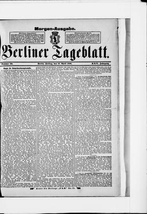 Berliner Tageblatt und Handels-Zeitung vom 10.04.1896