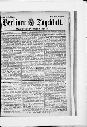 Berliner Tageblatt und Handels-Zeitung vom 13.04.1896