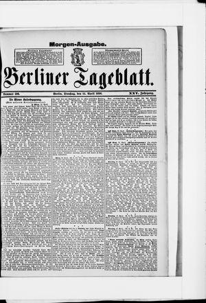 Berliner Tageblatt und Handels-Zeitung vom 14.04.1896