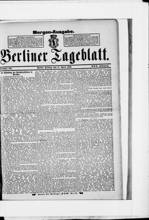 Berliner Tageblatt und Handels-Zeitung vom 17.04.1896