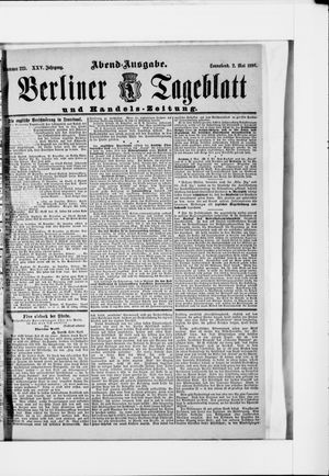Berliner Tageblatt und Handels-Zeitung vom 02.05.1896