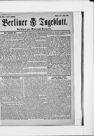 Berliner Tageblatt und Handels-Zeitung vom 04.05.1896