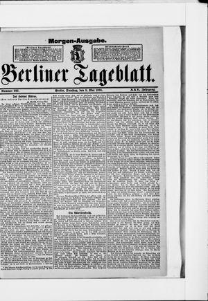 Berliner Tageblatt und Handels-Zeitung vom 05.05.1896