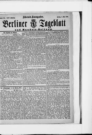 Berliner Tageblatt und Handels-Zeitung vom 08.05.1896