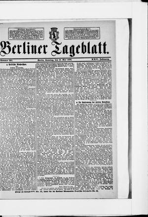 Berliner Tageblatt und Handels-Zeitung vom 10.05.1896