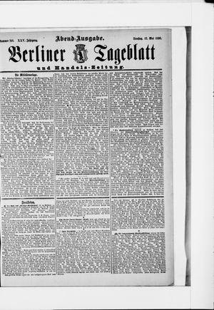 Berliner Tageblatt und Handels-Zeitung vom 12.05.1896