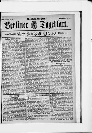 Berliner Tageblatt und Handels-Zeitung on May 18, 1896