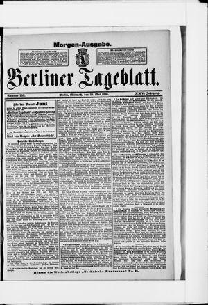 Berliner Tageblatt und Handels-Zeitung vom 20.05.1896