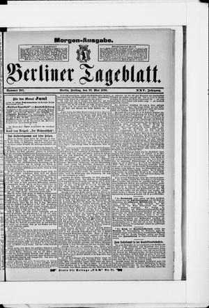 Berliner Tageblatt und Handels-Zeitung vom 22.05.1896