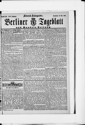 Berliner Tageblatt und Handels-Zeitung vom 23.05.1896