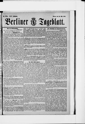 Berliner Tageblatt und Handels-Zeitung vom 26.05.1896