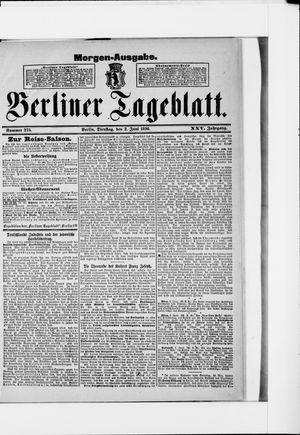 Berliner Tageblatt und Handels-Zeitung vom 02.06.1896