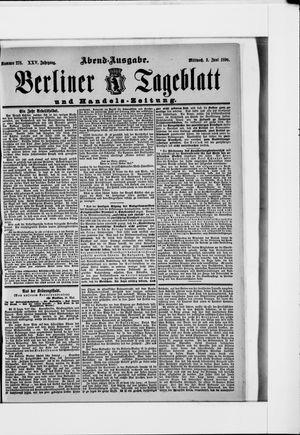Berliner Tageblatt und Handels-Zeitung vom 03.06.1896