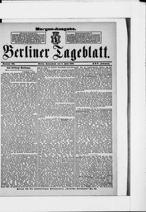 Berliner Tageblatt und Handels-Zeitung on Jun 6, 1896