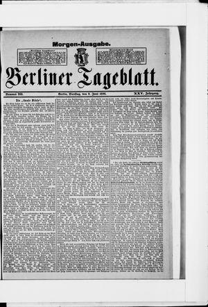 Berliner Tageblatt und Handels-Zeitung vom 09.06.1896