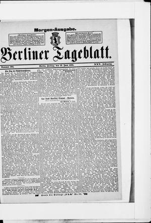 Berliner Tageblatt und Handels-Zeitung on Jun 12, 1896