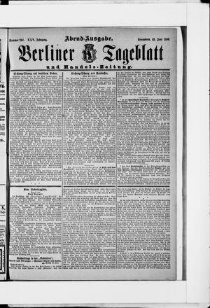 Berliner Tageblatt und Handels-Zeitung vom 13.06.1896