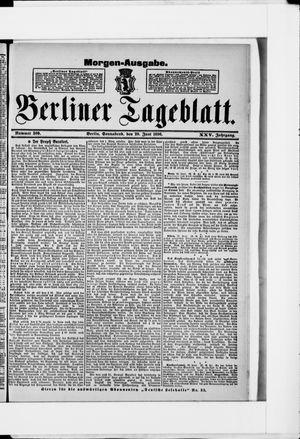Berliner Tageblatt und Handels-Zeitung vom 20.06.1896