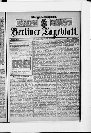 Berliner Tageblatt und Handels-Zeitung vom 30.06.1896