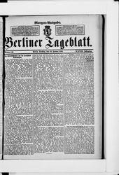 Berliner Tageblatt und Handels-Zeitung (18.01.1898)