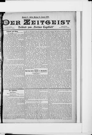 Berliner Tageblatt und Handels-Zeitung vom 31.01.1898