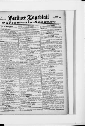 Berliner Tageblatt und Handels-Zeitung vom 09.02.1898