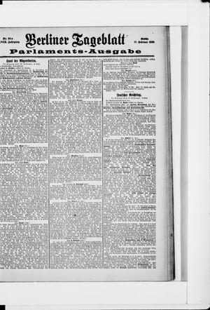 Berliner Tageblatt und Handels-Zeitung vom 16.02.1898