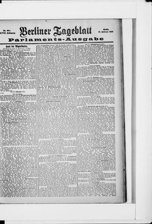 Berliner Tageblatt und Handels-Zeitung vom 19.02.1898