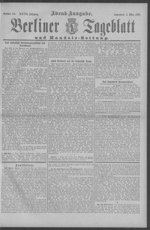 Berliner Tageblatt und Handels-Zeitung vom 05.03.1898