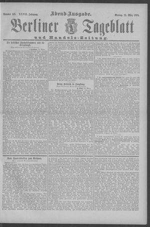 Berliner Tageblatt und Handels-Zeitung vom 21.03.1898