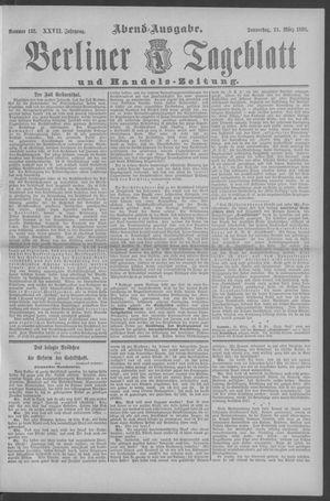 Berliner Tageblatt und Handels-Zeitung vom 24.03.1898