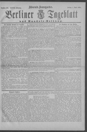 Berliner Tageblatt und Handels-Zeitung vom 01.04.1898