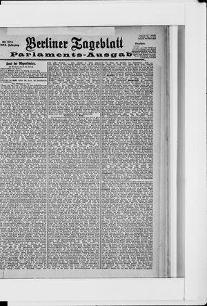 Berliner Tageblatt und Handels-Zeitung vom 01.05.1898