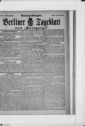 Berliner Tageblatt und Handels-Zeitung vom 02.05.1898