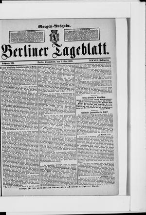 Berliner Tageblatt und Handels-Zeitung on May 7, 1898
