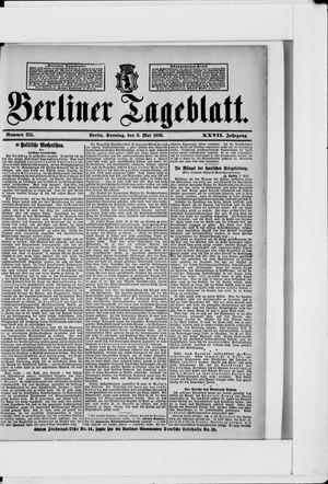 Berliner Tageblatt und Handels-Zeitung vom 08.05.1898