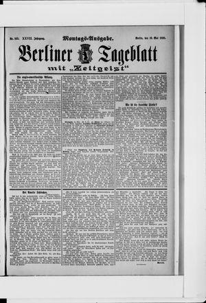 Berliner Tageblatt und Handels-Zeitung on May 16, 1898
