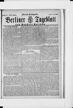 Berliner Tageblatt und Handels-Zeitung vom 08.07.1898