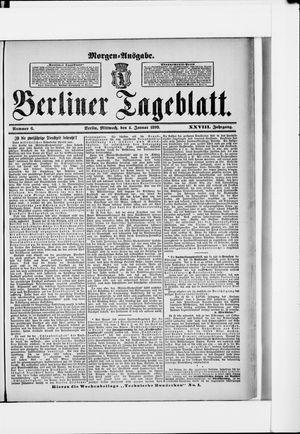 Berliner Tageblatt und Handels-Zeitung vom 04.01.1899
