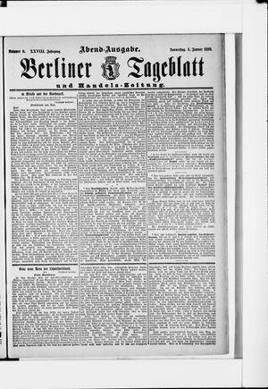 Berliner Tageblatt und Handels-Zeitung vom 05.01.1899
