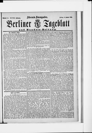 Berliner Tageblatt und Handels-Zeitung vom 06.01.1899