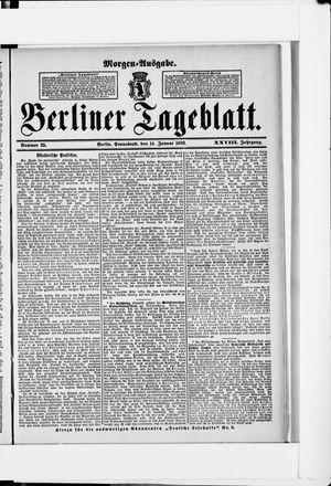 Berliner Tageblatt und Handels-Zeitung vom 14.01.1899