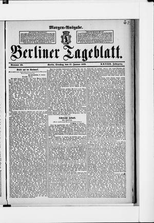 Berliner Tageblatt und Handels-Zeitung vom 17.01.1899